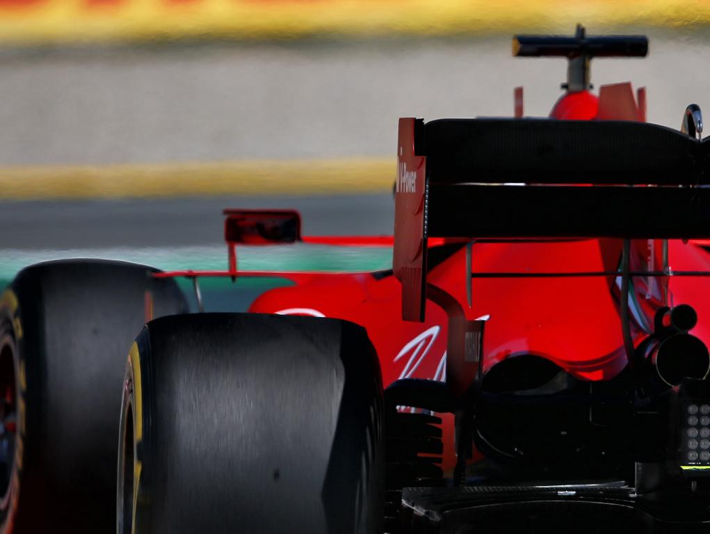 Sebastian Vettel mirror