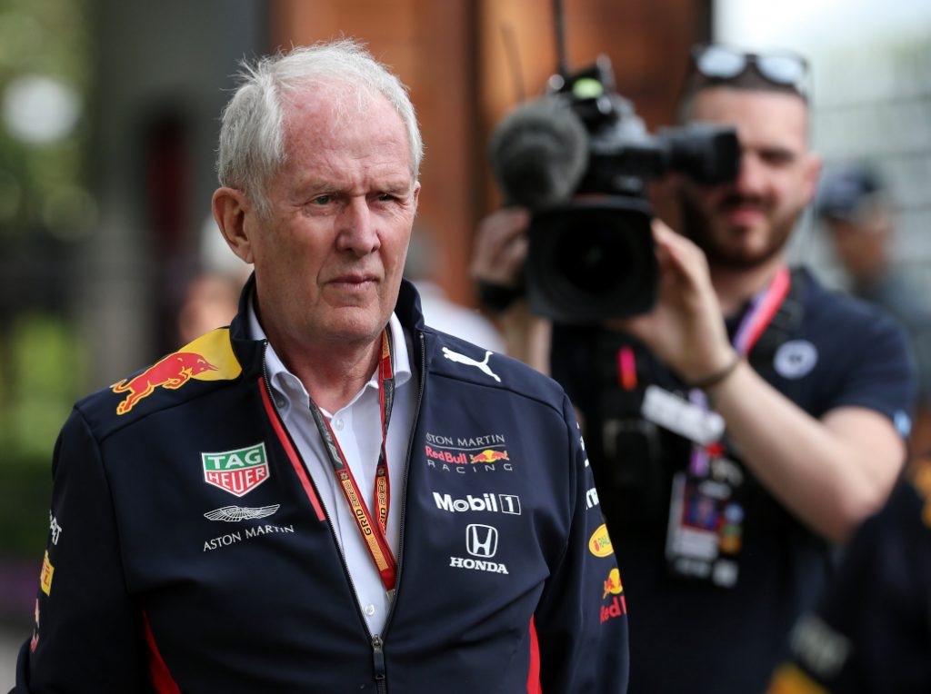 Dr Helmut Marko has accused Lewis Hamilton of interfering