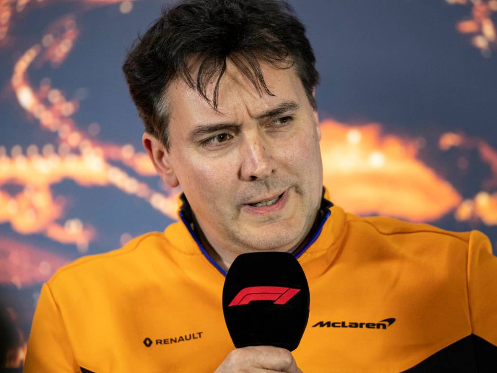 McLaren technical director James Key