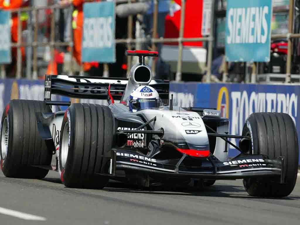 David Coulthard McLaren