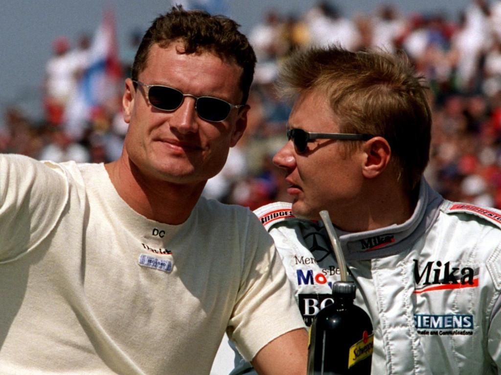 David Coulthard Mika Hakkinen PA