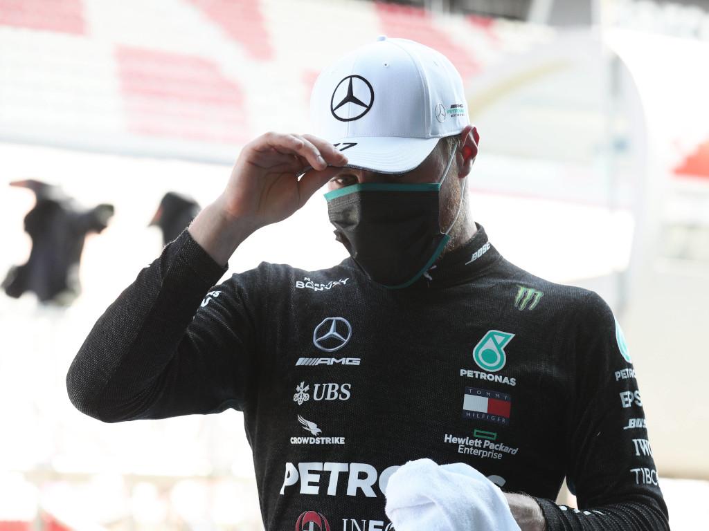 Valtteri Bottas black race suit