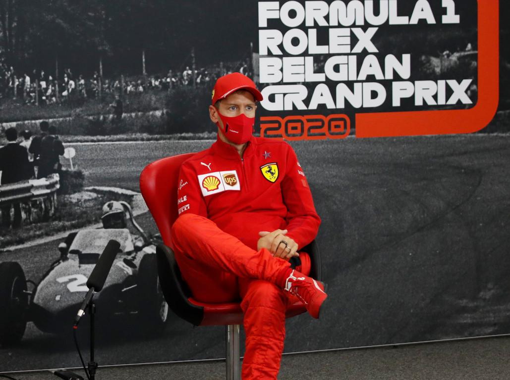 Sebastian Vettel Belgian GP press