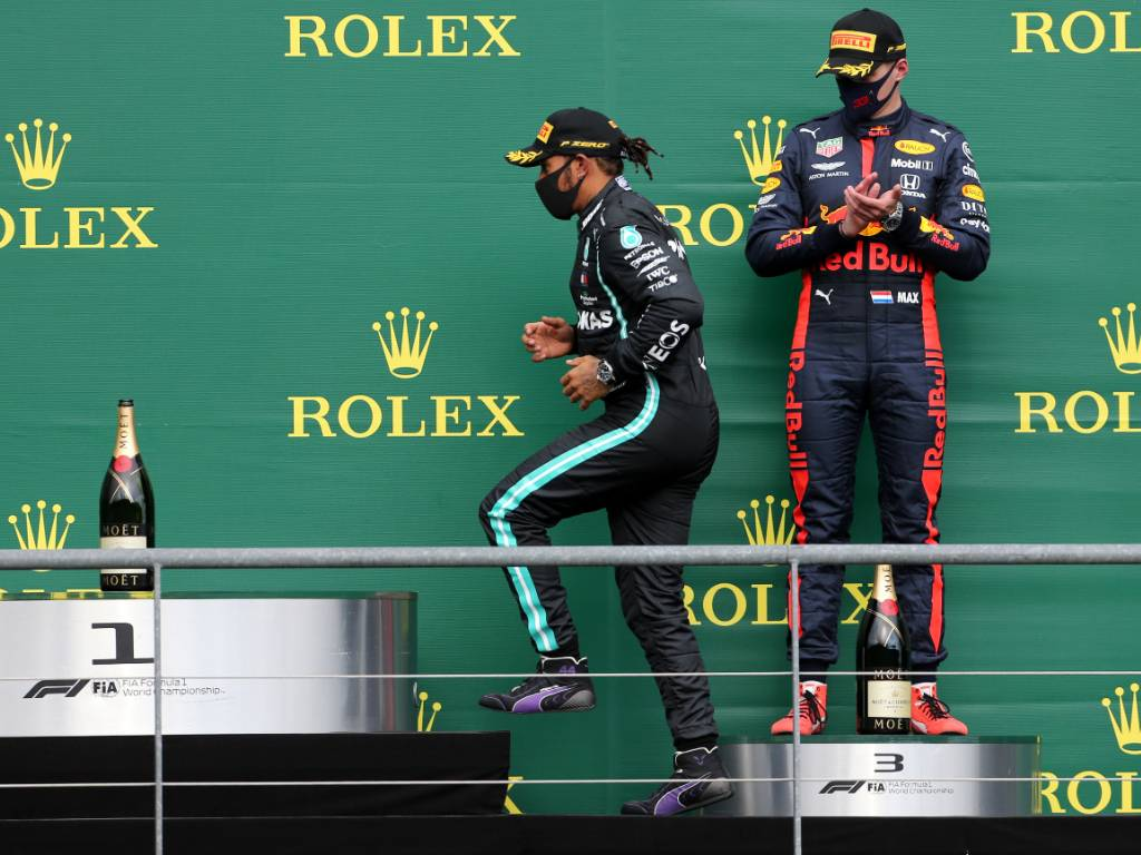 Lewis Hamilton Mercedes Max Verstappen