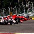 Sauber Alfa Romeo Ferrari