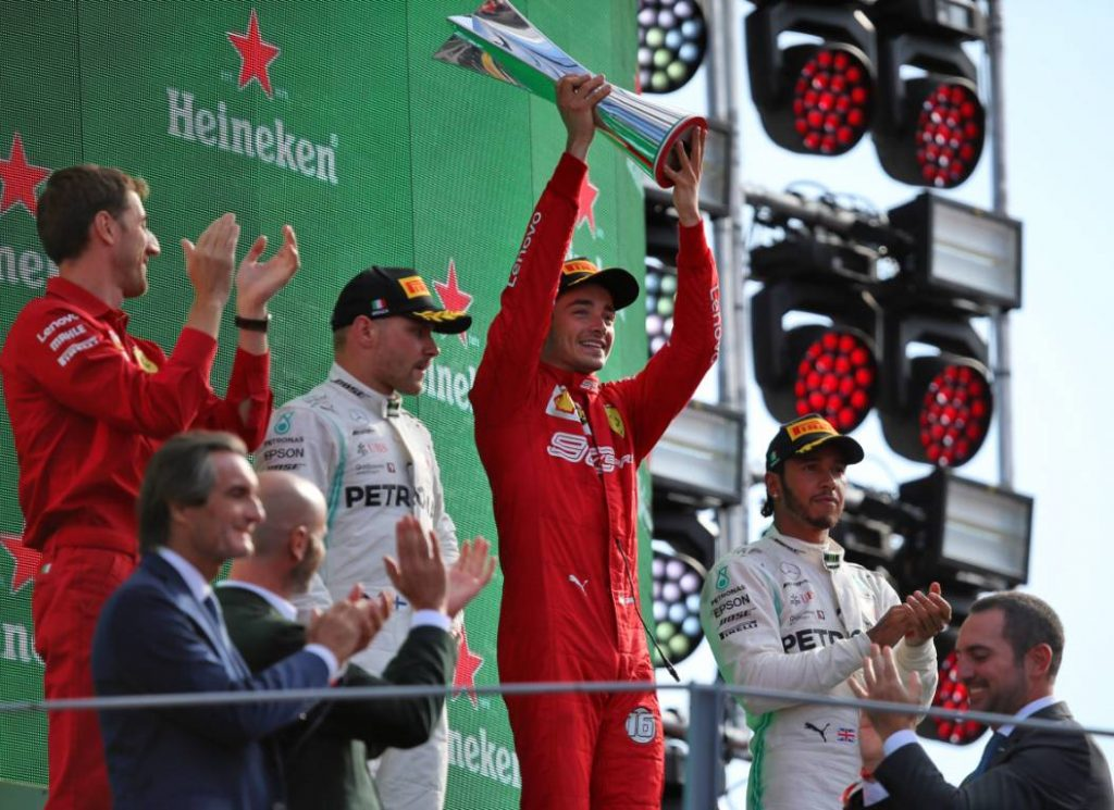 Charles Leclerc Italian Grand Prix 2019
