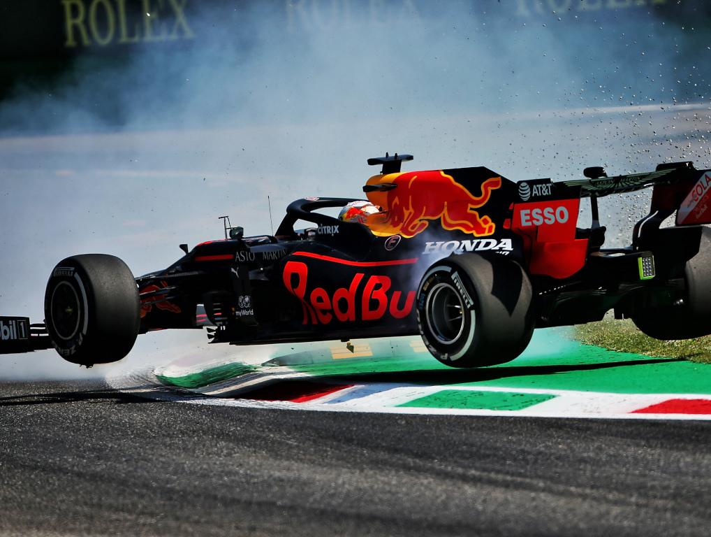 Max Verstappen flies Monza
