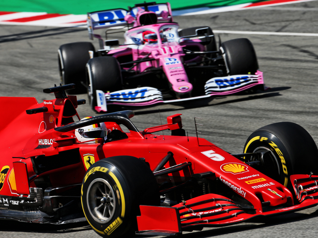 Racing Point have revealed they are bamboozled by Ferrari's different performance level, relative to the opposition, depending on fuel loads.