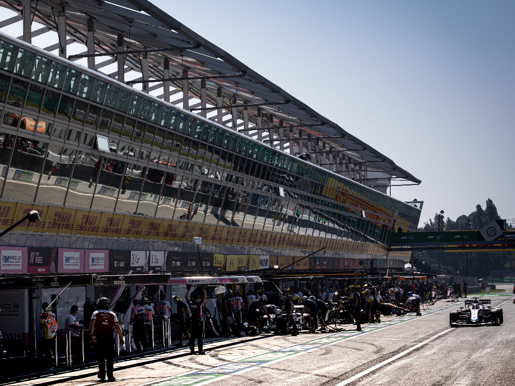 F1 Qualifying Monza