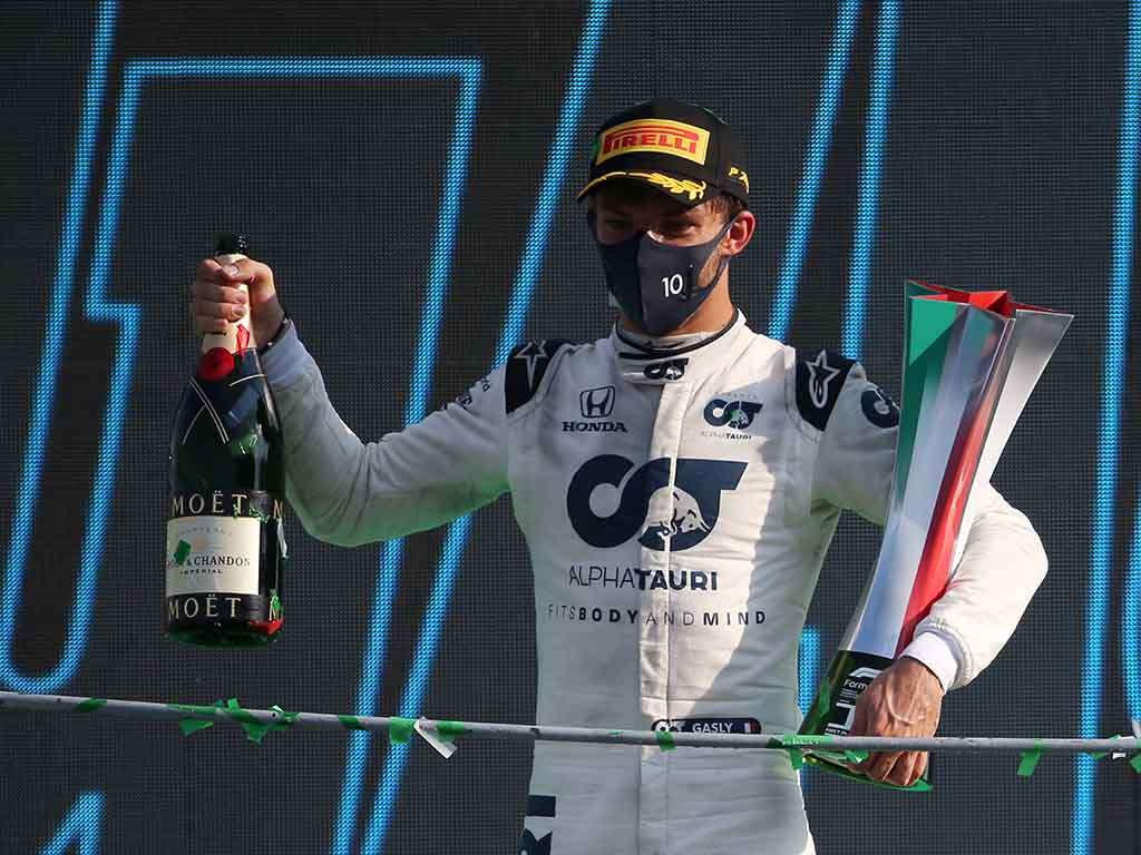 Pierre Gasly Italian Grand Prix