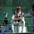 Pierre Gasly Carlos Sainz Lance Stroll Monza podium
