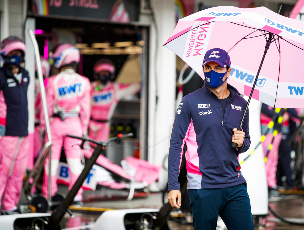 Sergio Perez Racing Point team