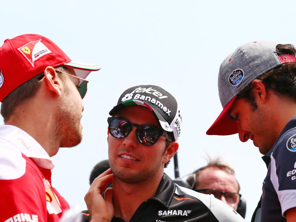 Vettel-Perez-Sainz.