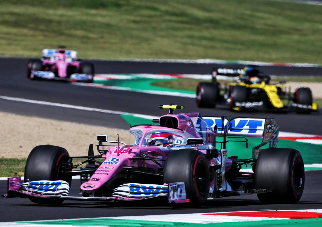 Lance Stroll (Racing Point) during the Tuscan Grand Prix