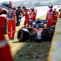 Carlos Sainz Tuscan GP crash