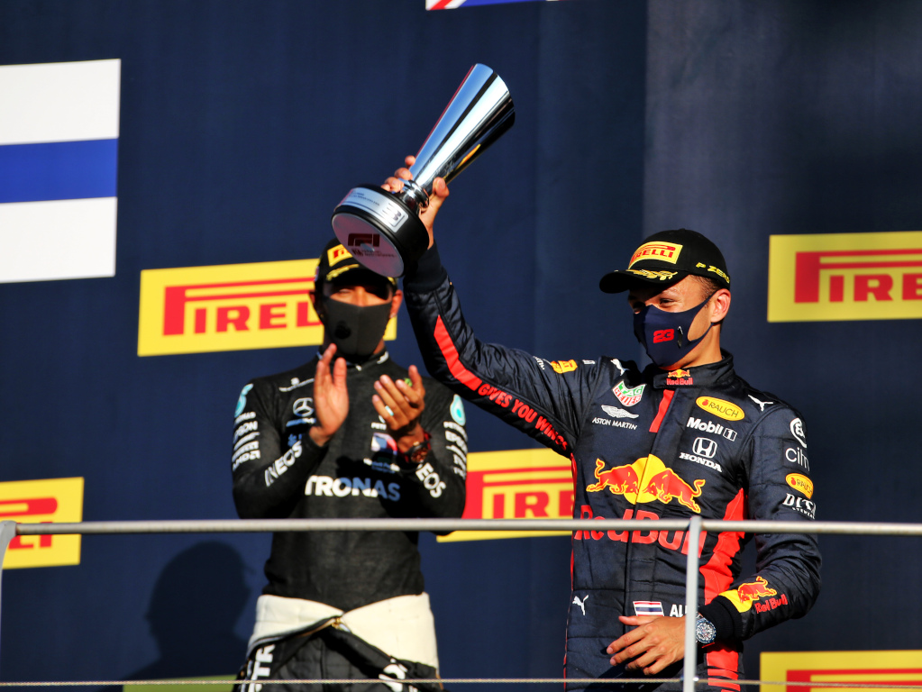 Alex Albon S Mugello Podium Celebrations Were Tragic F1 News By Planetf1