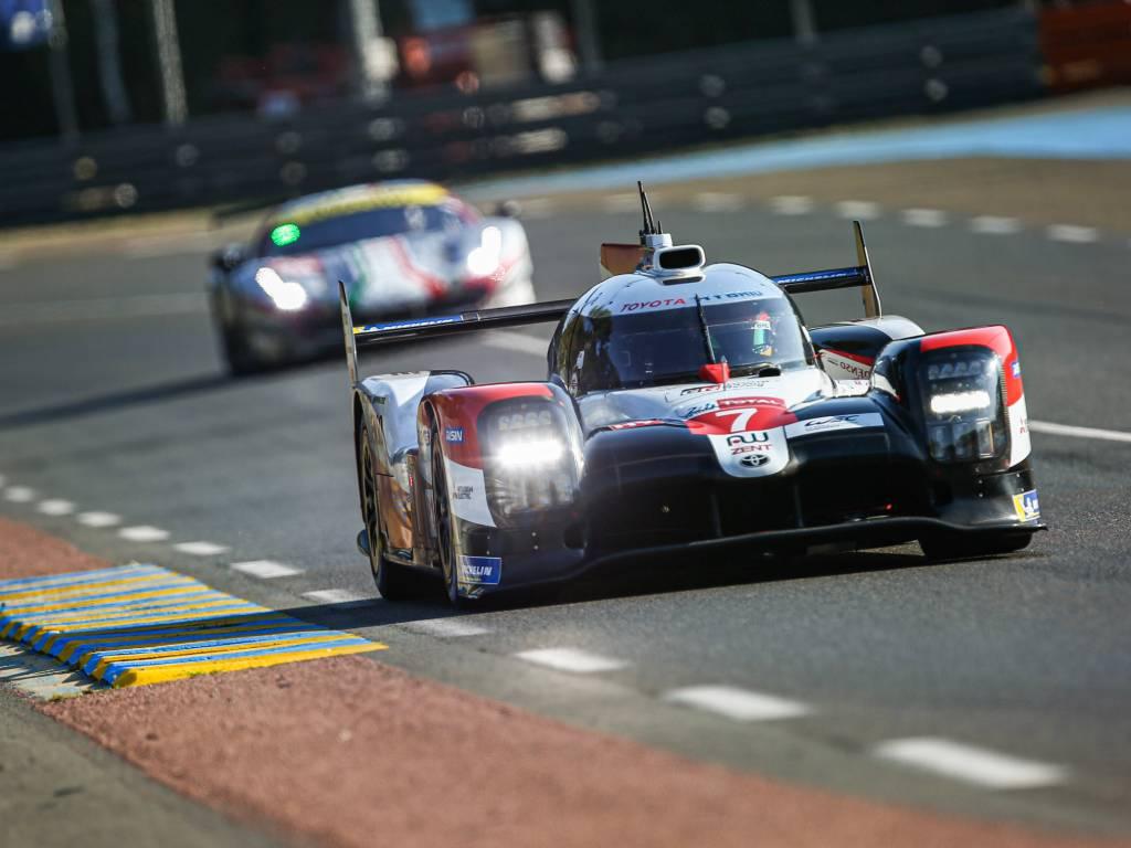 Kamui Kobayashi during Le Mans 24-Hour qualifying