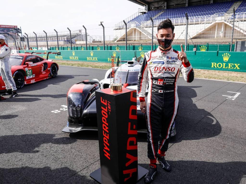 Kamui Kobayashi, Le Mans 24-Hour qualifying