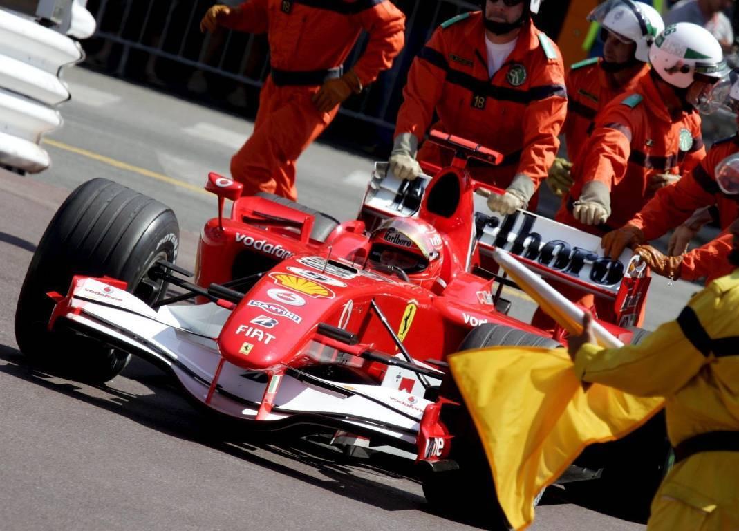 Michael Schumacher Ferrari Monaco 2006