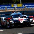 Le Mans-winning Toyota - Sebastien Buemi, Brendon Hartley, Kazuki Nakajima