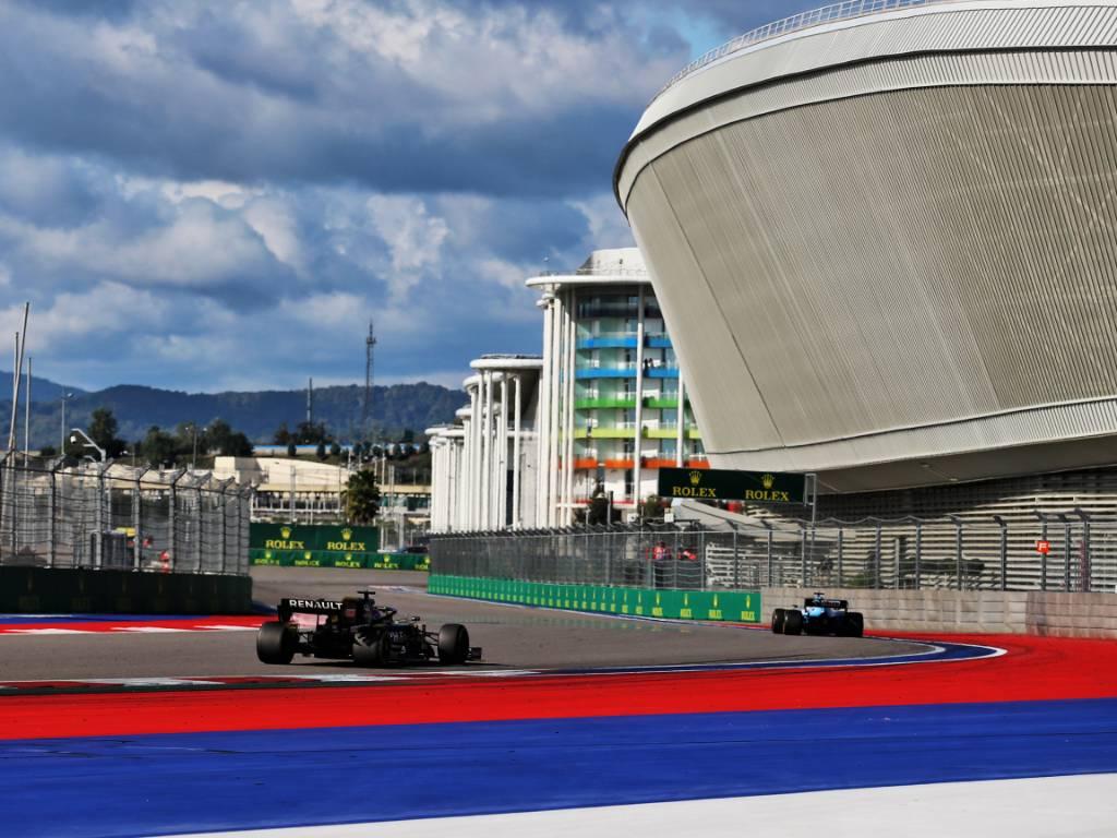 2019 Russian Grand Prix at Sochi