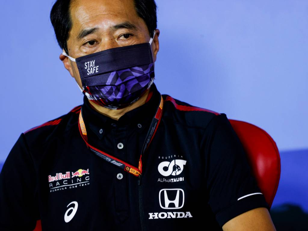 Honda's technical director Toyoharu Tanabe