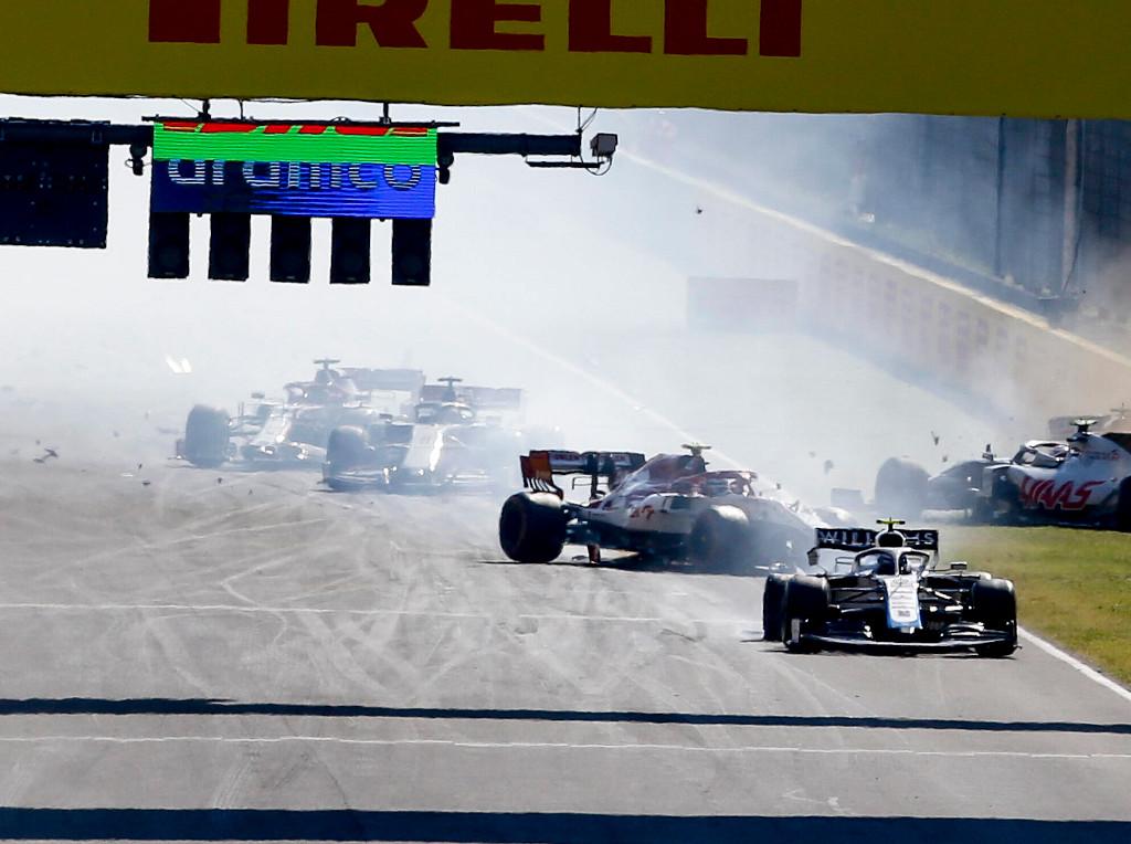 Mugello crash
