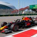 Max Verstappen at the Russian Grand Prix
