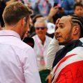Jenson Button and Lewis Hamilton