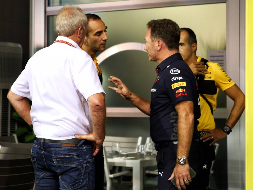Renault have insisted they would be prepared to put past differences aside and provide Red Bull with engines from 2022.