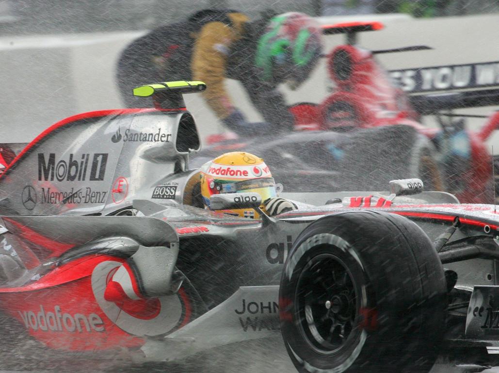 Lewis hamilton Nurburgring 2007