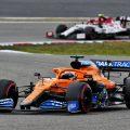 Carlos Sainz (McLaren) during the Eifel Grand Prix