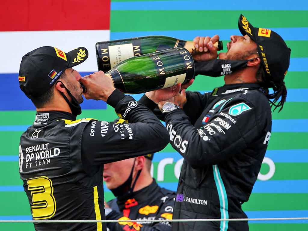 Lewis Hamilton Daniel Ricciardo