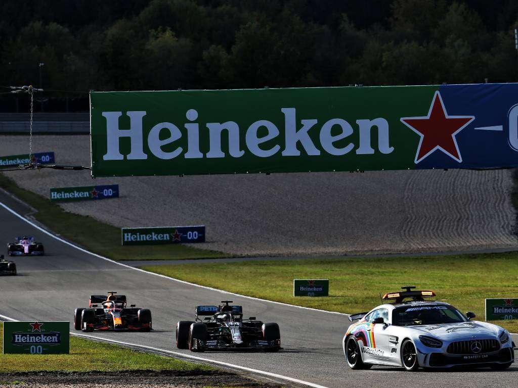 Christian Horner believes Mercedes' DAS system was a factor in Lewis Hamilton's excellent restart from the Safety Car period during the Eifel Grand Prix.