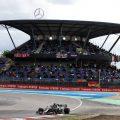 Lewis Hamilton during the Eifel Grand Prix at the Nurburgring