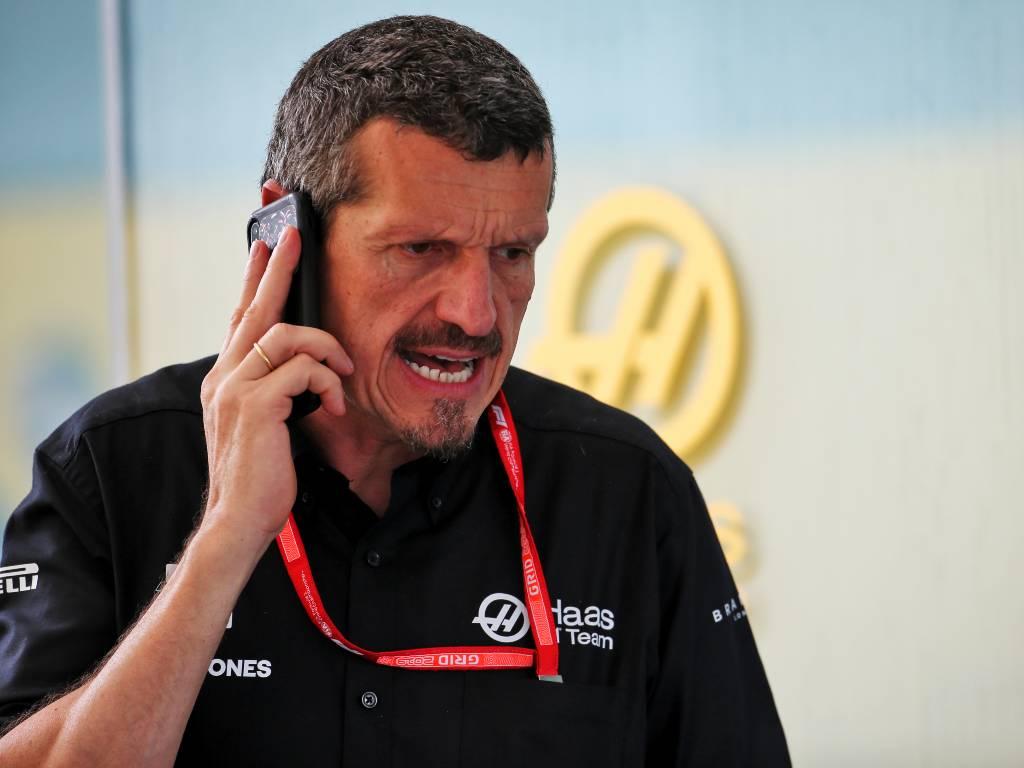 Haas team principal Guenther Steiner