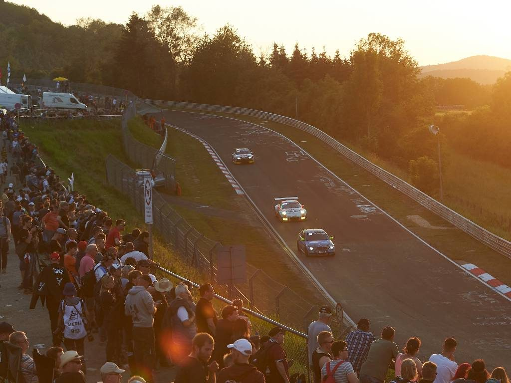 Nurburgring 24-hour race on the Nordschleife