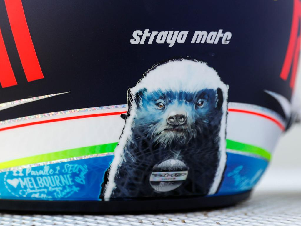 Daniel Ricciardo 2018 helmet