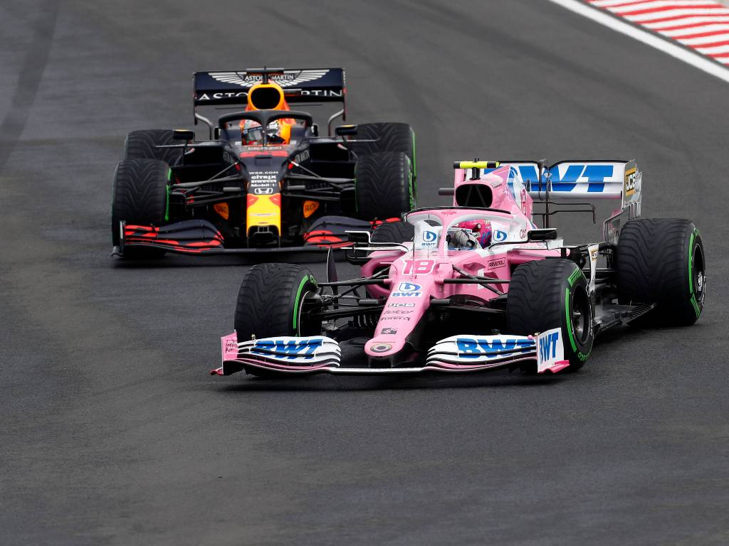 Lance Stroll and Max Verstappen