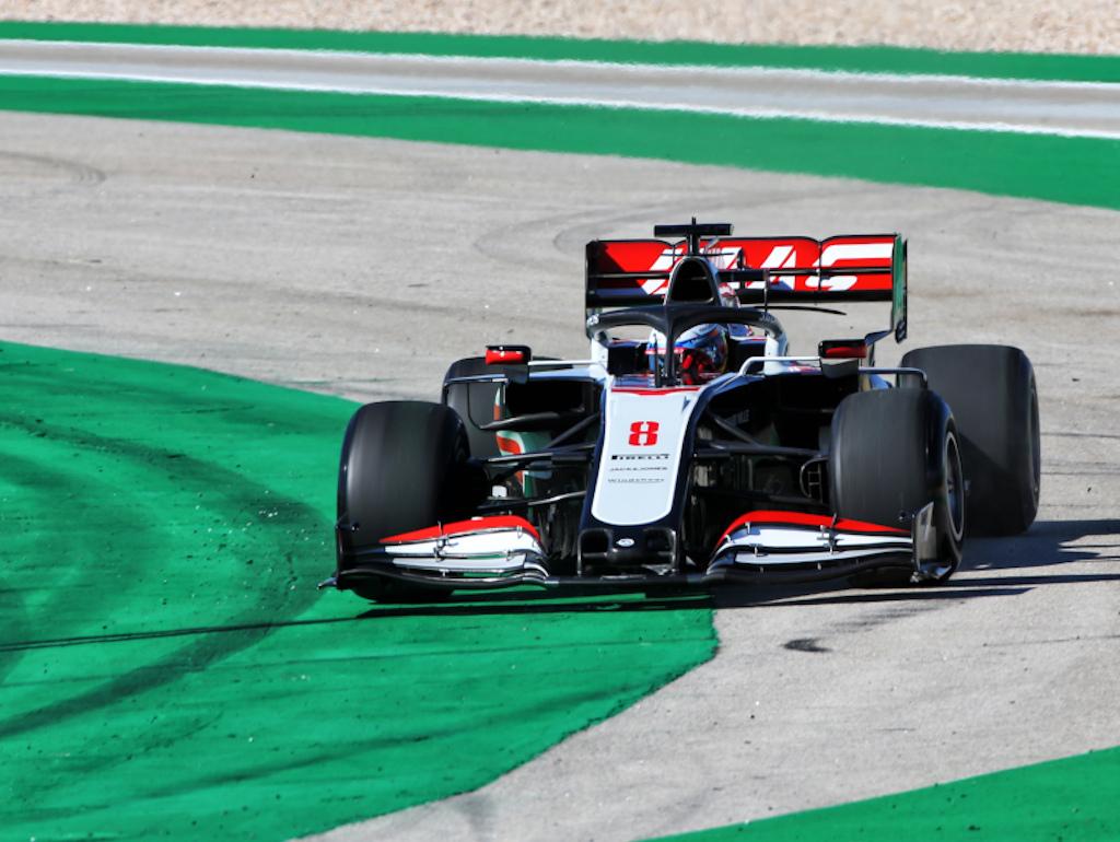 Romain Grosjean Algarve circuit