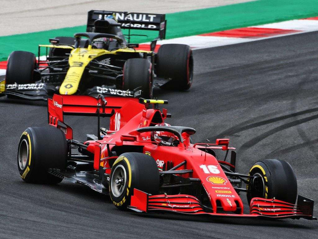 Charles Leclerc will aim to continue his strong form in the Emilia Romagna Grand Prix at Imola
