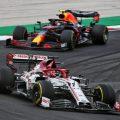 Kimi Raikkonen, Alfa Romeo, during the Portuguese Grand Prix