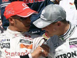 Lewis-Hamilton-Michael-Schumacher-PA