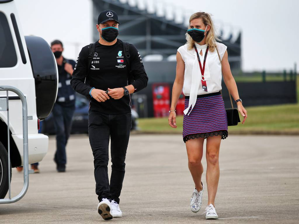 Valtteri Bottas and his girlfriend Tiffany Cromwell