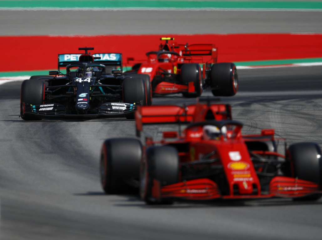 Ferrari Have 40 50 Hp To Find On Mercedes F1 News By Planetf1