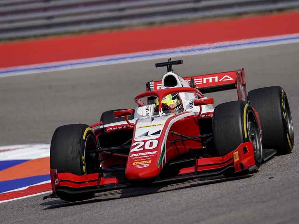 Mick Schumacher Ferrari junior