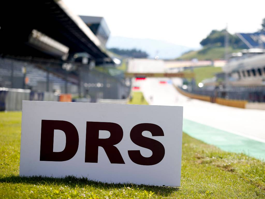 DRS marker at the Red Bull Ring