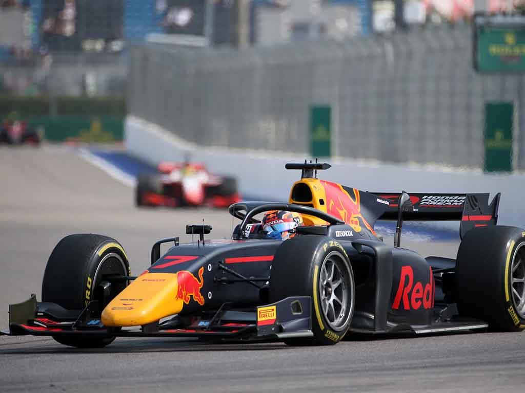 Yuki Tsunoda Formula 2