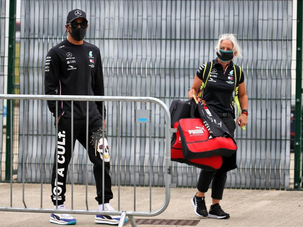 Lewis Hamilton and Angela Cullen