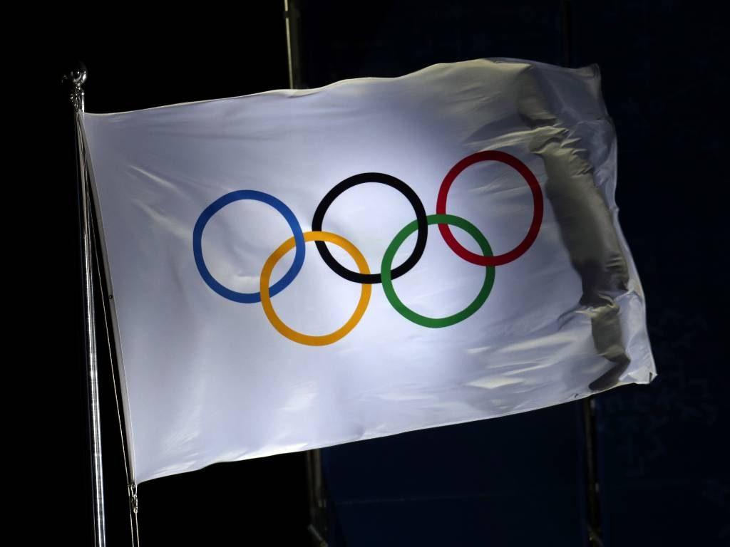Olympic flag - Mailbox